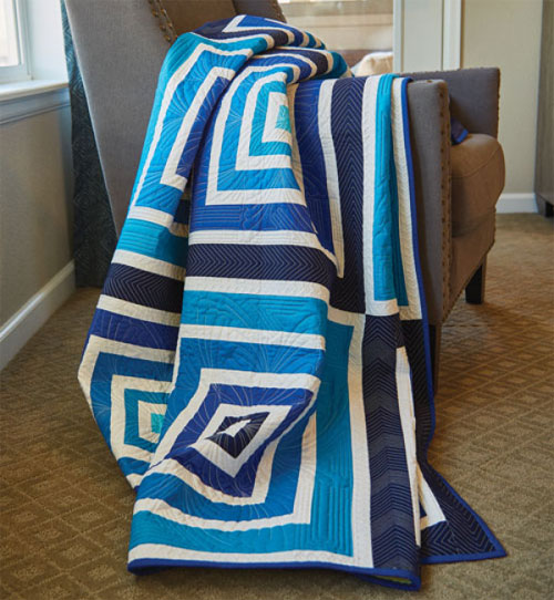 McCall's Quick Quilts Magazine - Blues Traveler Quilt Pattern Download