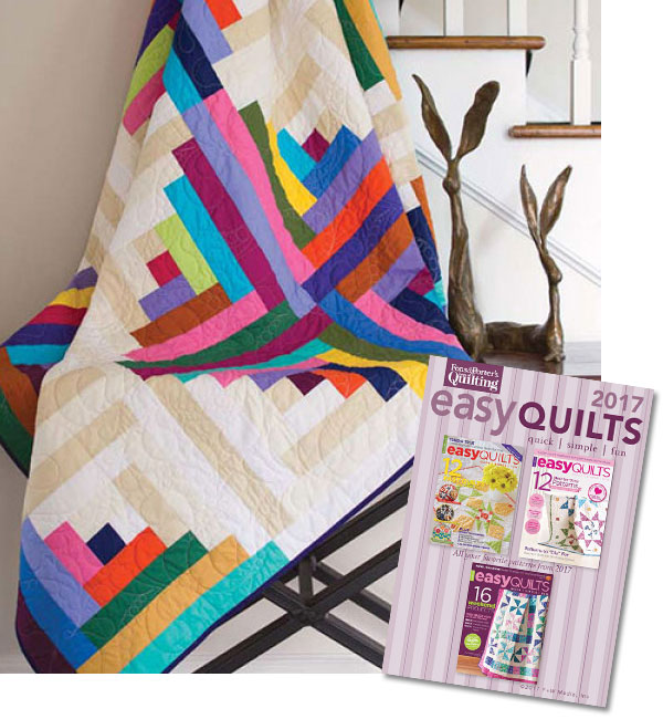 Easy Quilts Magazine 2017 Collection CD