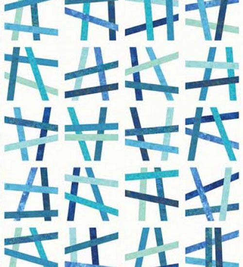 Easy Quilts Magazine - Brush Stroke Quilt Kit