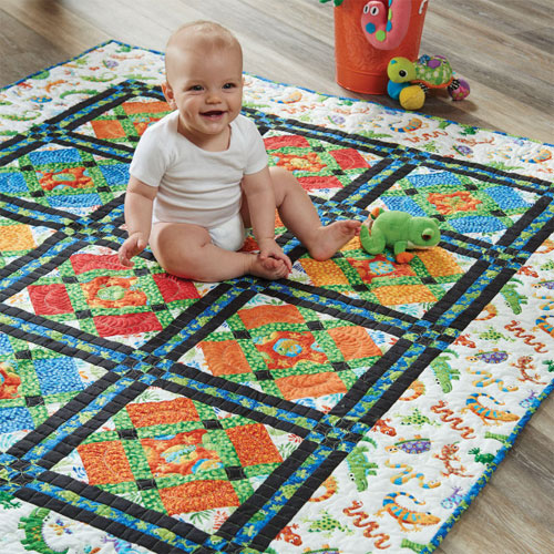 Easy Quilts Magazine - Echo and Pasquale Quilt Pattern Download