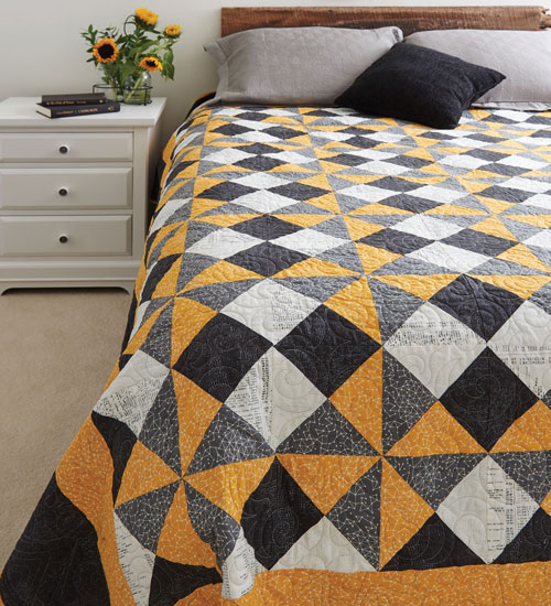 Easy Quilts Magazine - Hawkfan Quilt Kit