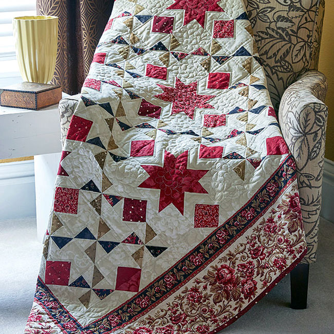 Easy Quilts Magazine - Half-Square Triangles Blog Post