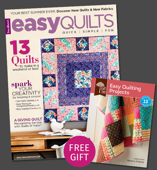 Easy Quilts Magazine Subscription