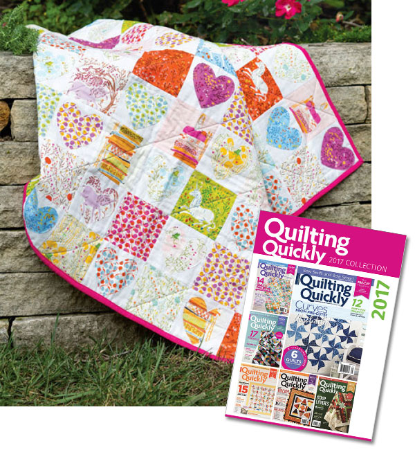 Quilting Quickly Magazine 2017 Collection Download