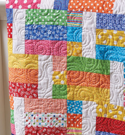 Quilting Quickly Magazine - Jelly Sandwich Quilt Pattern Download