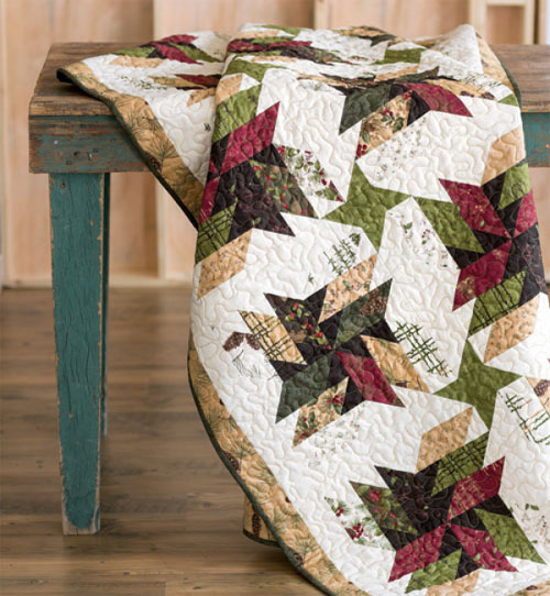 Quilting Quickly Magazine - Old Sawmill Quilt Pattern Download