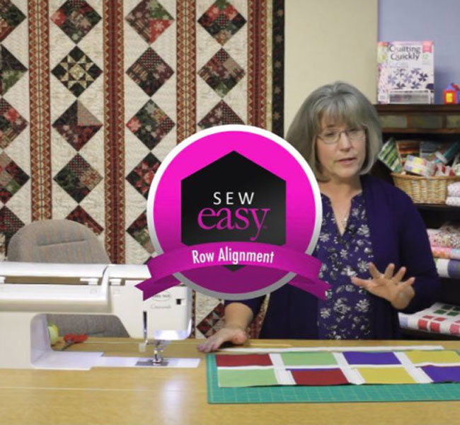 Quilting Quickly Magazine - Sew Easy Row Alignment Lesson