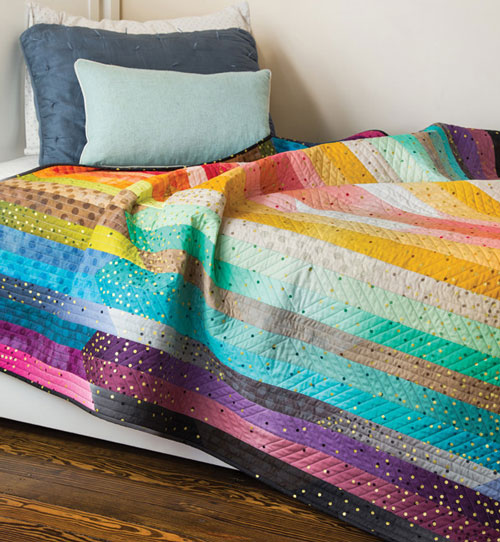 McCall's Quick Quilts - Glimmer Glow Quilt Kit