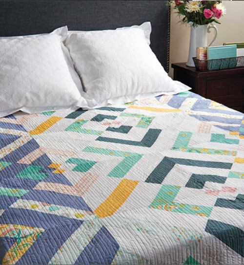 Modern Patchwork Magazine- Crossing the River Quilt Pattern Download