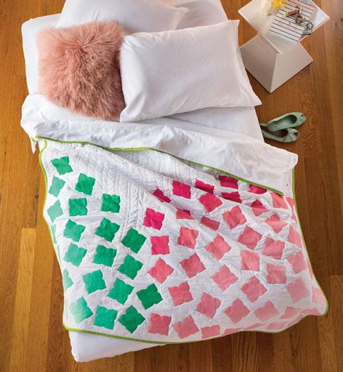 Modern Patchwork Magazine - Hydrangea Quilt Kit