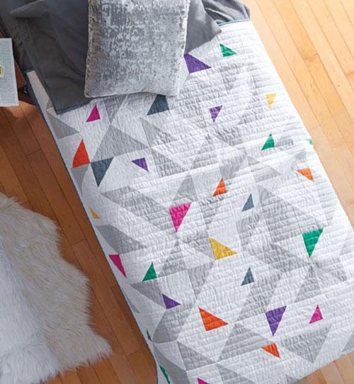 Modern Patchwork Magazine - Pop Rocks Quilt Pattern Download