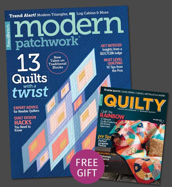 Modern Patchwork Magazine Subscription