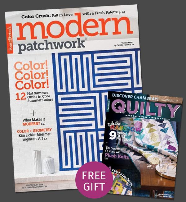 Modern Patchwork Subscription June Promotion