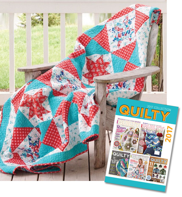 Quilty Magazine 2017 Collection Download