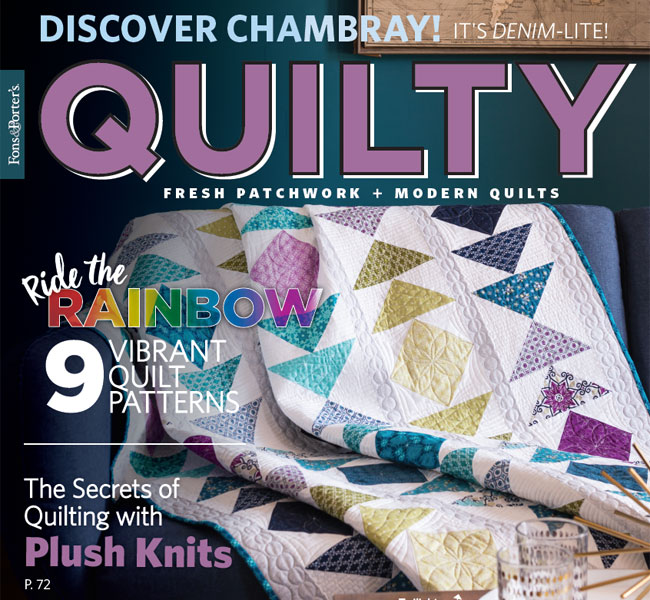 Quilty Magazine - July/August 2018