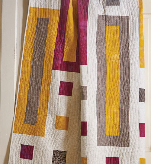 Quilty Magazine - Spicy Mustard Quilt Pattern Download