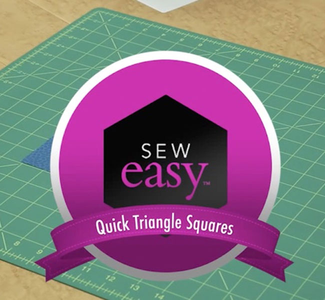 Quilty Magazine - Sew Easy Quick Triangle Squares