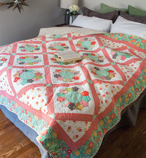 McCall's Quick Quilts Magazine - Shortcut to Dresden Quilt Pattern Download