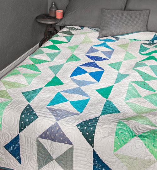 McCall's Quick Quilts Magazine - Star Search Quilt Kit