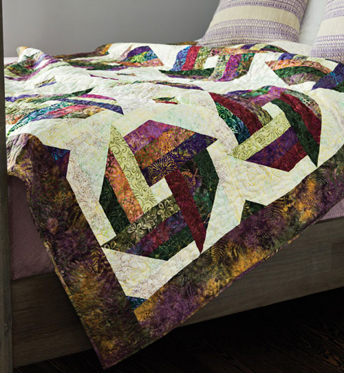 McCall's Quick Quilts Magazine - Tuscan Vintage Quilt Kit