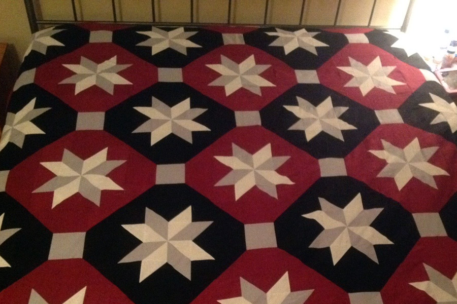 Past Mystery Quilt from Debi Montgomery