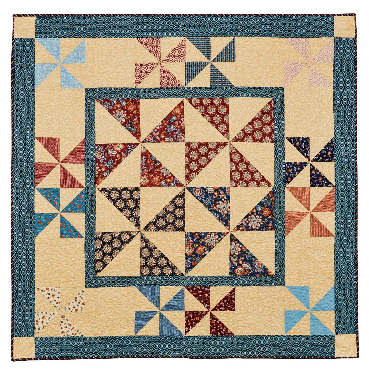 Lazy Pinwheels - The Quilting Company