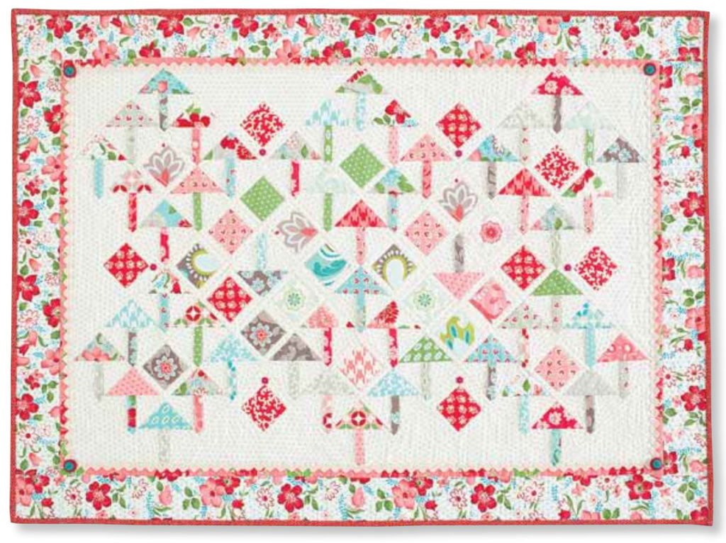 Picadilly Square quilt