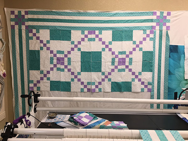 The Beginning of the Graduation Quilt