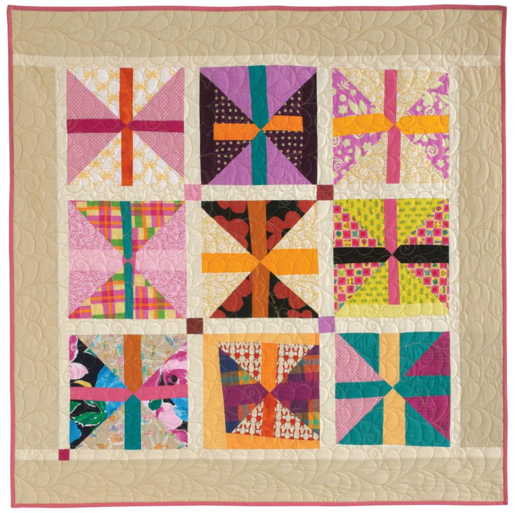 Scrap Block quilt - scrap quilts