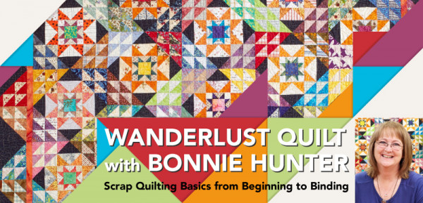 Wanderlust with Bonnie Hunter
