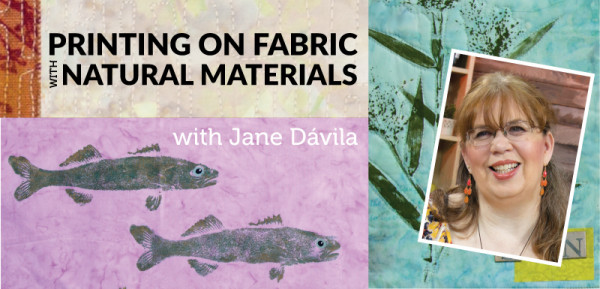 Printing on Fabric with Natural Materials