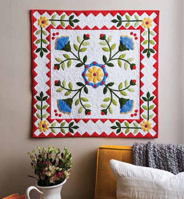 Bloomin' Botanicals quilt kit