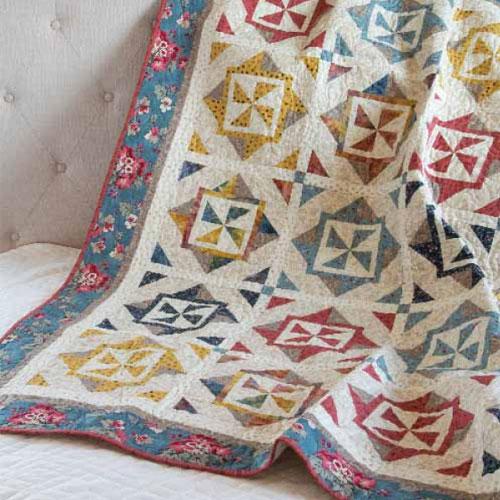 Batik Quilts and Fabrics - County Fair Quilt Kit
