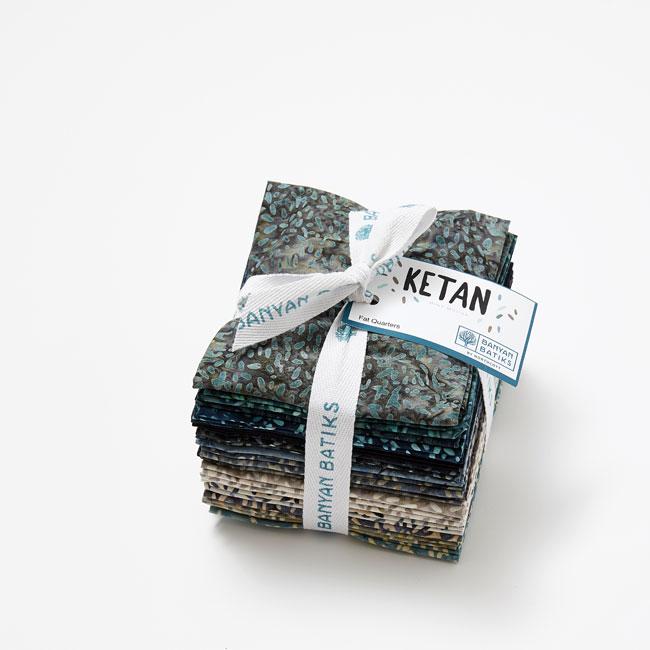 Batik Quilts and Fabrics - Ketan Batiks Fat Quarter Bundle