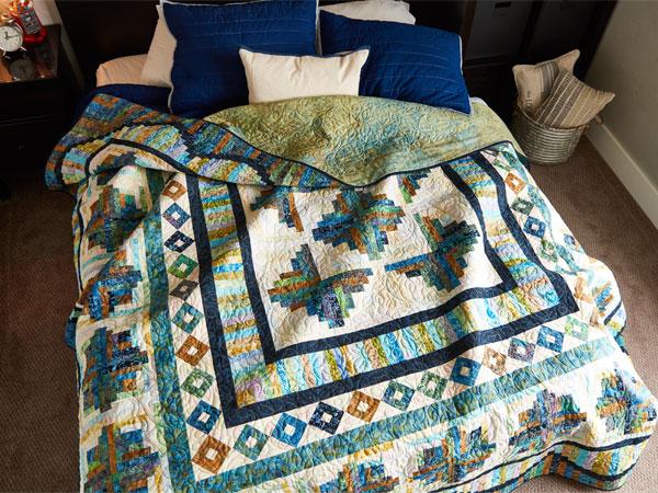 Batik Quilts and Fabrics - Primitive Lines