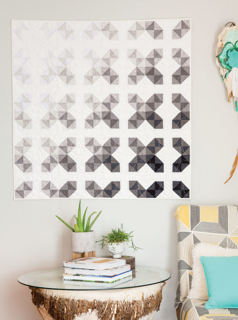 Fade Away Quilt by Stacey Day