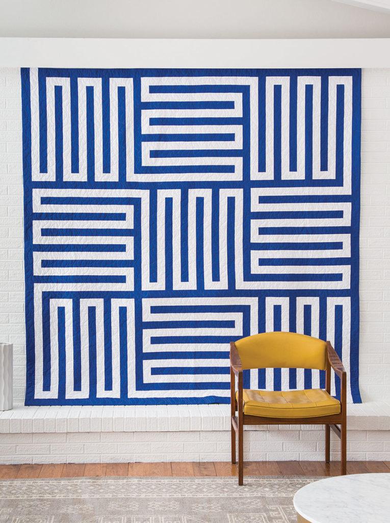Sound Maze Quilt by Confident Beginner