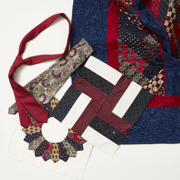 Memory Quilts Workshop - Neck Tie Quilts