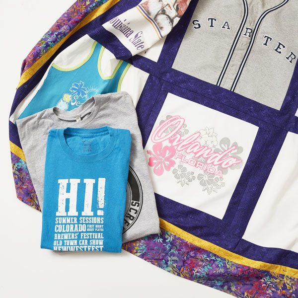 Memory Quilts Workshop - T-Shirt Quilts