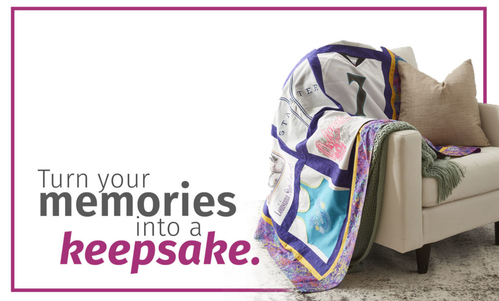 Memory Quilts - Turn Your Memories into a Keepsake