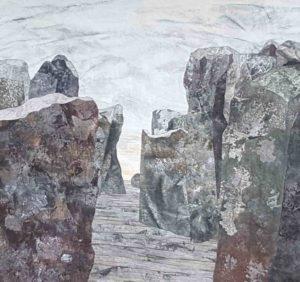 Denise Labadie's North Island quilt