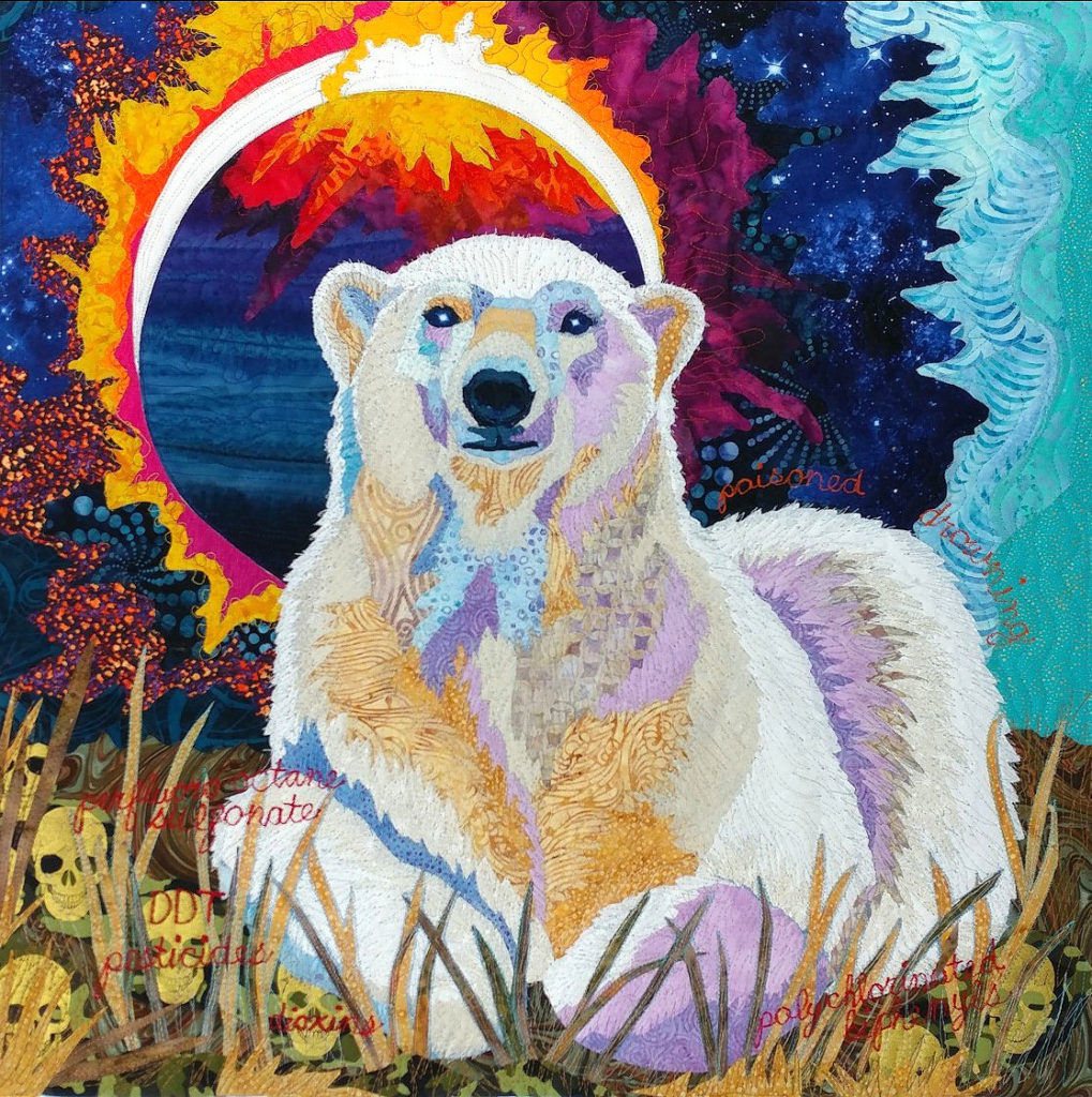 day-with-art-quilters-luana-rubin-polar-bear-quilt-b
