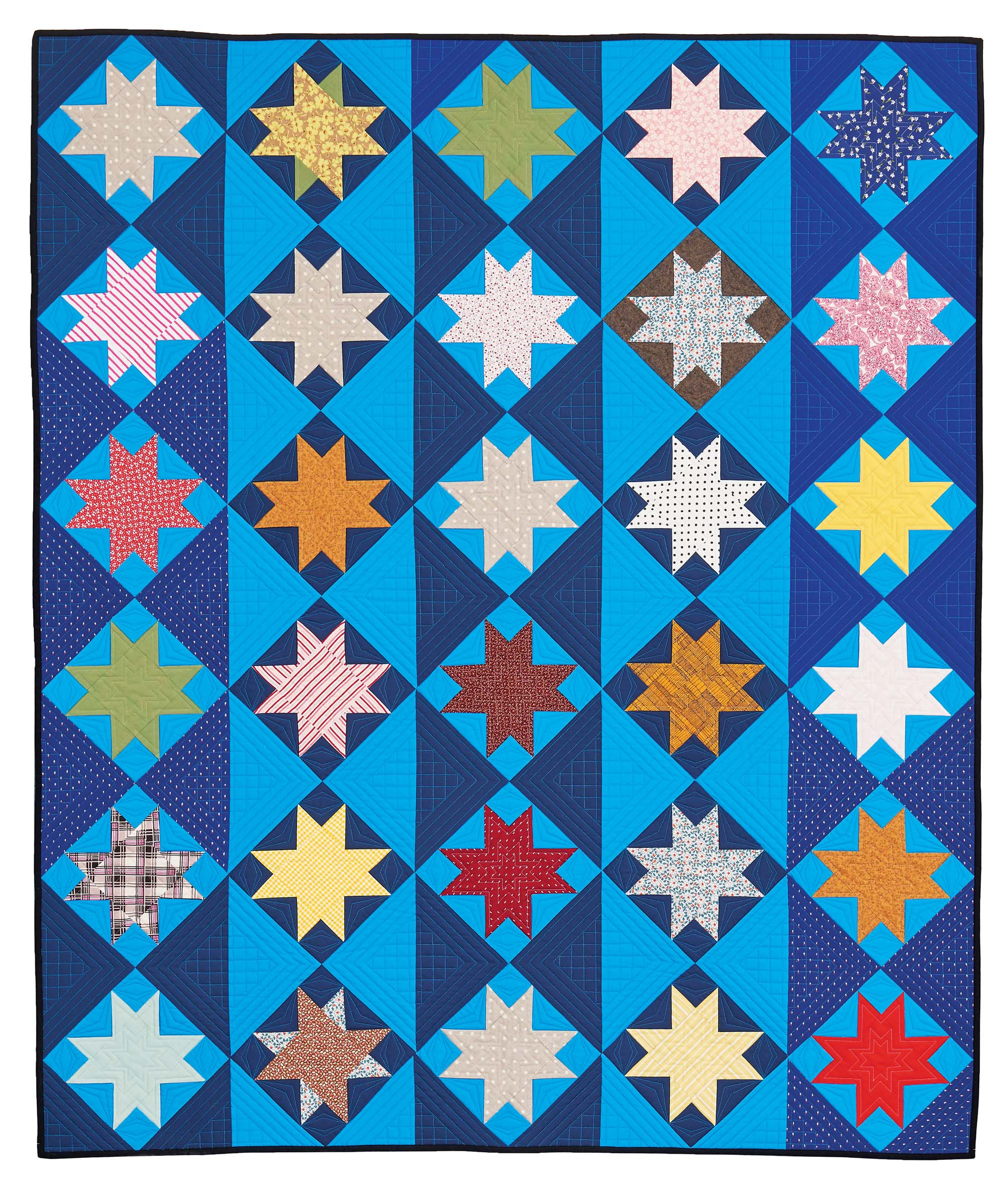 quilt-piecing-a-blue-streak-flat