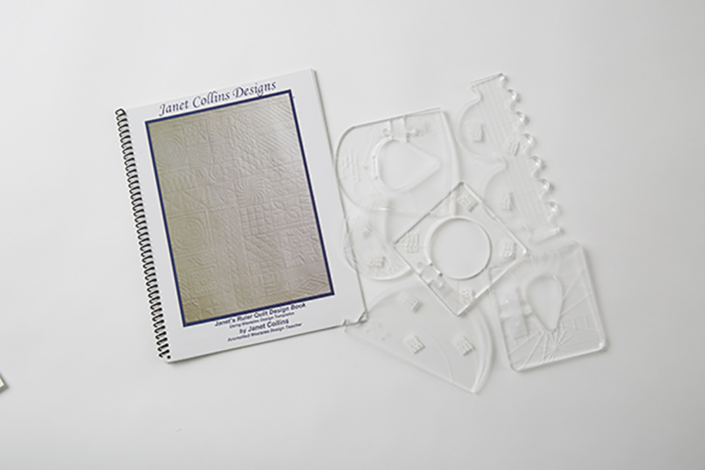 domestic machine quilting with rulers: Tools