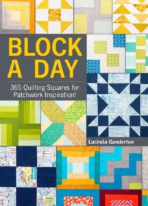 Make a block a day with this must have quilting book