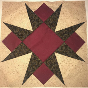 Stellar Elegance Mystery Quilt - Final Block #1