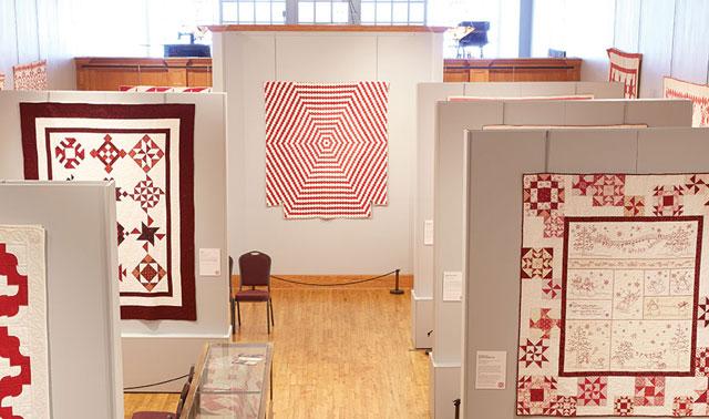 Quilting Escapes - The Iowa Quilt Museum Interior