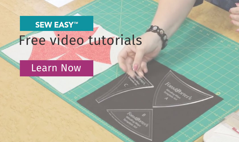 Sew Easy Free Quilting Videos