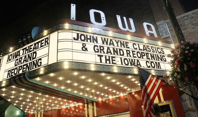 Quilting Company Escapes - The Iowa Theater