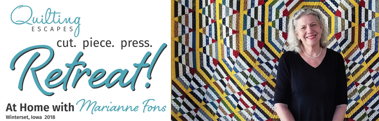 Quilting Escapes - At Home with Marianne Fons